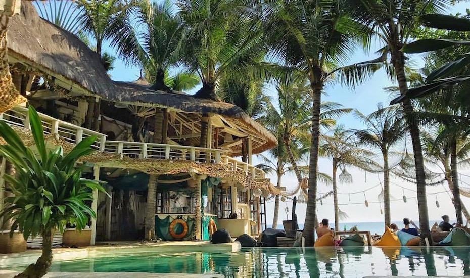La Brisa beach club pool view