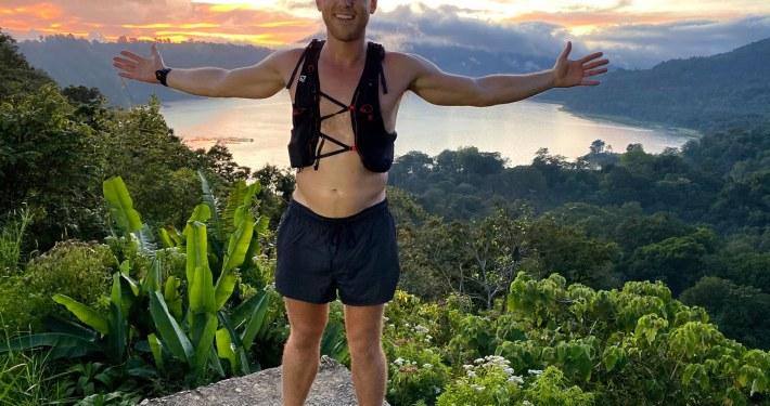 Bali 90 kilometres run in 12 hours