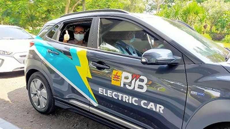 Electric car trip Jakarta to Bali