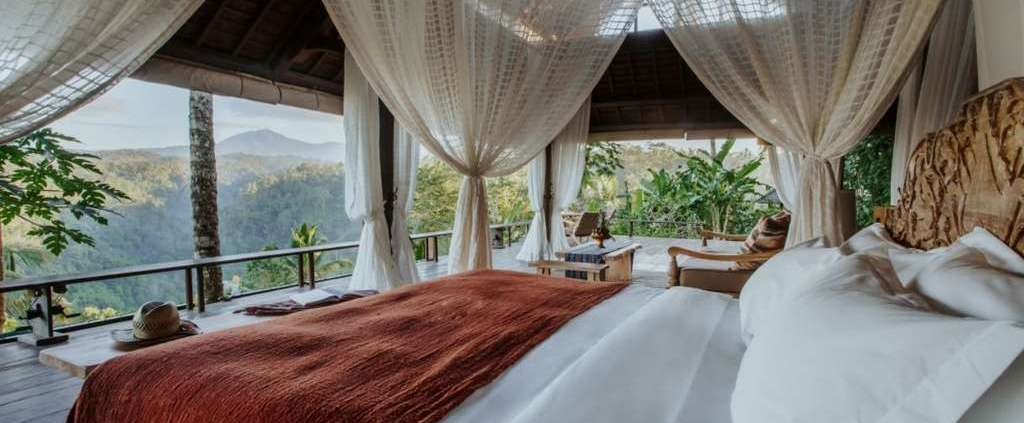 Hotel opening in Ubud without doors and walls
