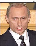 Russia's President Vladimir Putin was a KGB officer