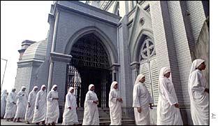 Missionaries of Charity in Calcutta
