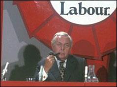Prime Minister Harold Wilson in 1974