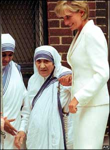 Princess Diana and Mother Teresa met for 40 minutes