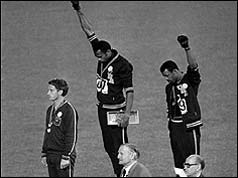 Image result for 68 olympics protest