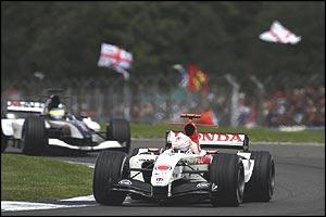 British Grand Prix - Jenson Button
