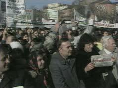 Protestatarii din Sofia