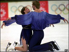 Torvill and Dean at Sarajevo Winter Olympics