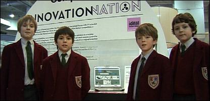Alex, 11, Angus, 11, Thomas, 10, and Cameron, 11