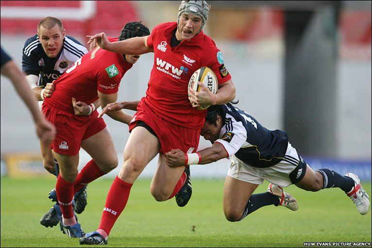Image result for jonathan davies scarlets