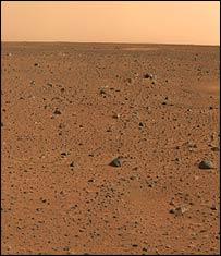 BBC NEWS ScienceNature Mars probe returns colour images