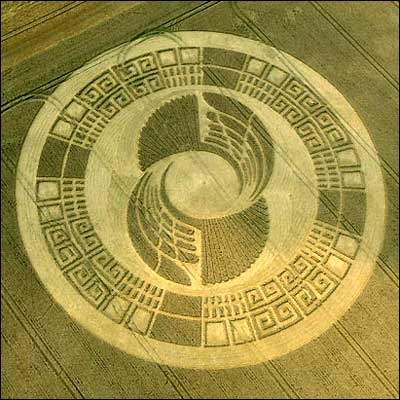 Crop Circle found in England