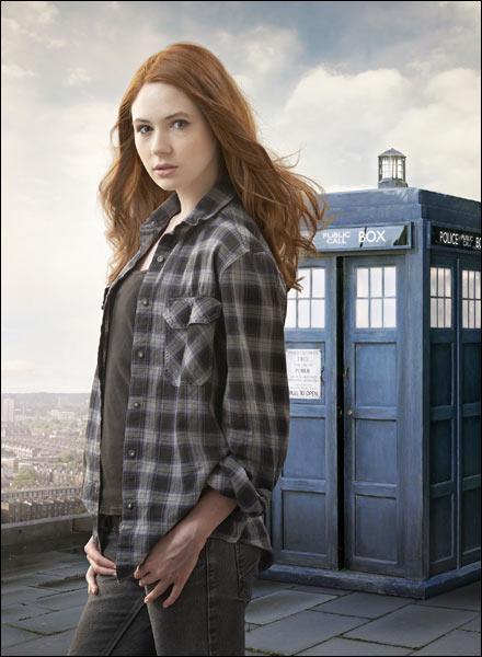 Karen Gillan will play the companion to Matt Smiths 11th Doctor in Doctor Who.