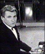 Russ Conway at the piano