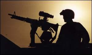 Kuwaiti soldier