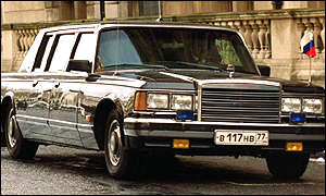 Russian ZiL limo