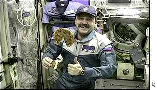 Russian cosmonaut Yuri Usachov