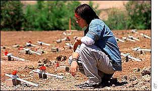 En el año 2000, 491 mexicanos murieron intentando cruzar la frontera.