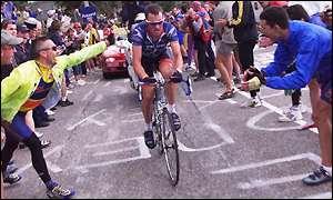 Armstrong Alpe d'Huez 2001