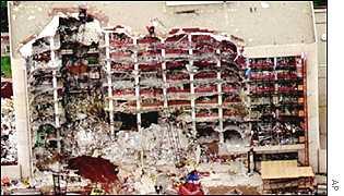 Oklahoma bomb scene