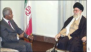 Annan and mullah pal