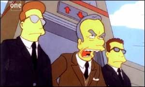 Murdoch en Los Simpsons (Fuente: BBC)