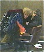 Emu attacking Michael Parkinson