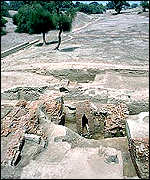 [ image: Harappa was occupied until about 1900 BC]