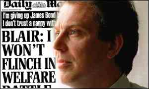 Image result for Welfare reform tony Blair