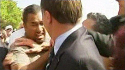 John Key attacked at Waitangi
