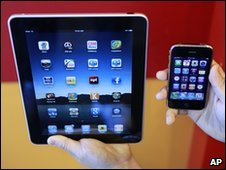 iPad and iPhone (file image)