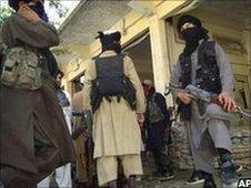 Taliban militants in Pakistan