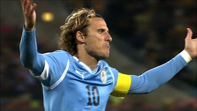 Uruguay striker Diego Forlan