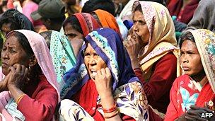 Dalit women in Delhi