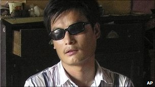 Chen Guangcheng (file photo 2006)