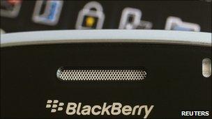 BlackBerry handset