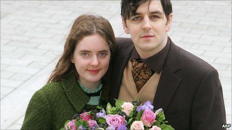 Katherine Doyle and Tom Freeman