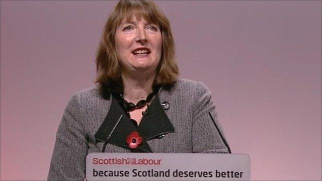 Deputy Labour Party leader Harriet Harman