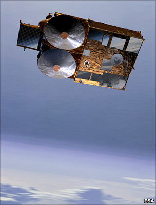 Artist's impression of Cryosat-2 (Esa)