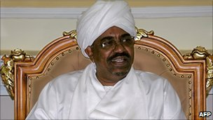 President Omar al-Bashir (file photo)