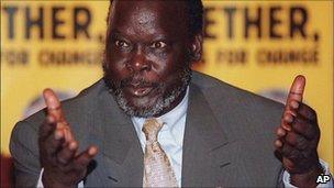 John Garang (2000)