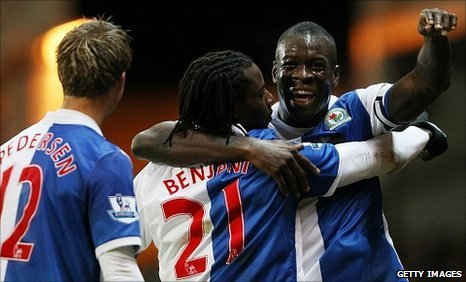 Morten Gamst Pedersen, Benjani and Christopher Samba