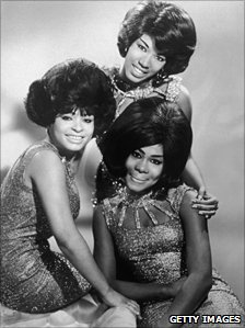 Gladys Horton, front right, with the Marvelettes