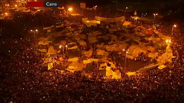 Cairo's Tahrir Square