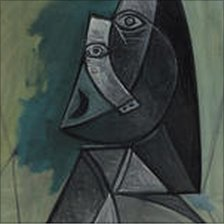 Picasso's Buste de Femme (image from Radio Netherlands Worldwide)