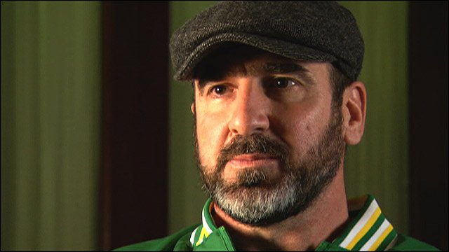 Man united icon reveals his one. Eric Cantona S Kung Fu Kick The Moment That Shocked Football Bbc Sport