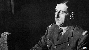 De Gaulle's BBC address