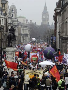 250,000+ Protest In London