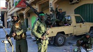 Pro-Gaddafi troops in Misrata, 28 Mar 11