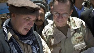 2009 - Greg Mortenson and Mike Mullen - chair of joint chiefs of staff